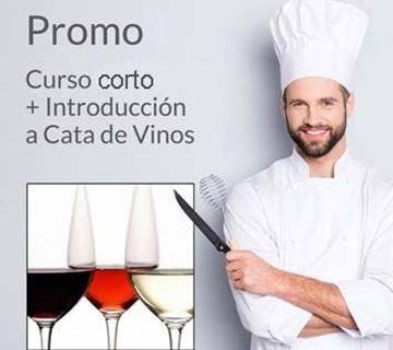 Imagen de Promo Curso Corto + Cata de Vinos
