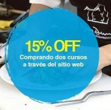 Imagen de Compra 2 cursos vía web - 15% off en el 2do